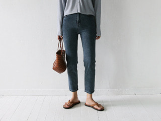 877 grey denim pants