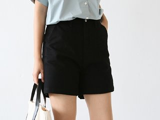 basic cotton shorts (2c)