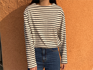 narmal stripe tee (3c)