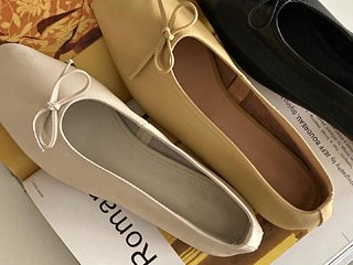 mellow leather flat (3c)  소가죽 플랫 슈즈
