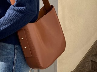 daily round leather bag (4c)