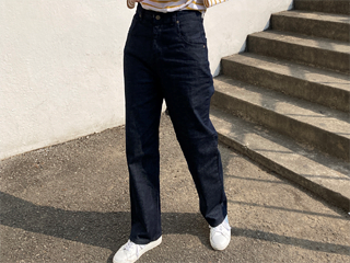 britz indigo denim pants