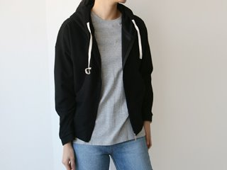 soft hood zip-up (3c)