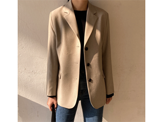 basic 3 button jacket (3c)