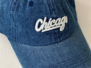 chicago denim cap
