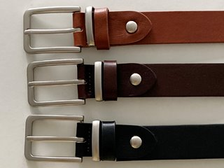 jacobs leather belt (3c)