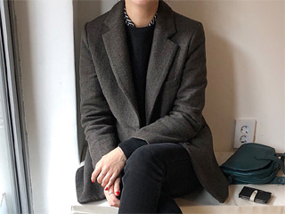 two button wool jacket (2c)